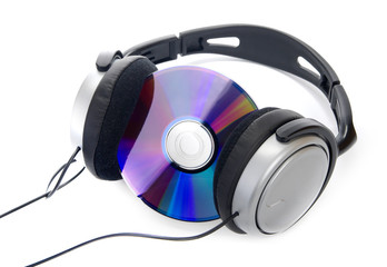 Cd and headphone