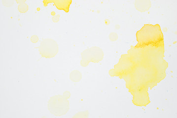 yellow watercolor 3