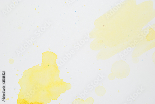 yellow watercolor 9