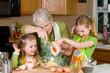 Baking Cookies with Grandma