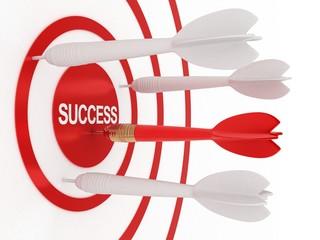 dart and success
