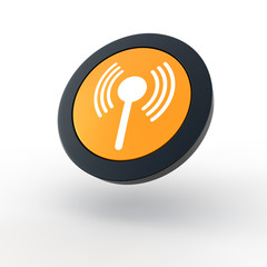 Wireless button