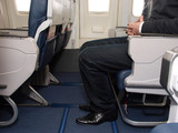 Legroom on plane