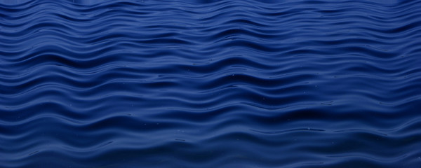 Türkiblaue Wasserwellen