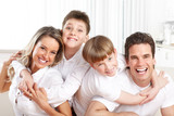 Fototapety Happy family