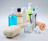 assorted toiletries poster