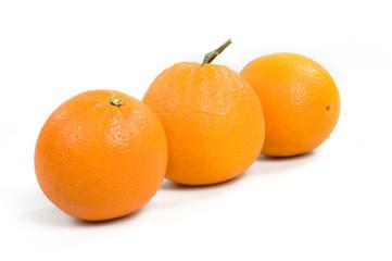 Tre arance in fila