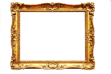 Ornamental Gold Frame 2