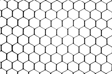 Honeycomb grid abstract