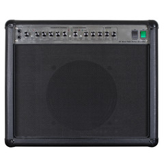 Guitar amplifier black