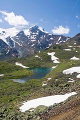 monte Cevedale e lago Lungo
