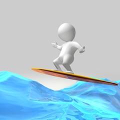 Wassersurfen