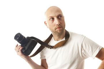 looking photographer