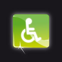 Picto handicapé - Handicap button