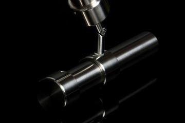 inox pipe with reflex