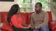 Couple talks on sofa - 126