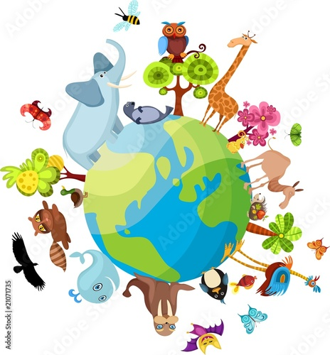Poster Zoo animal planet new