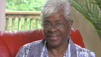 Senior Woman smiles -113