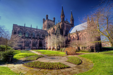 HDR image of Chester Cathedral