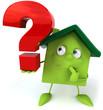 Maison verte et question