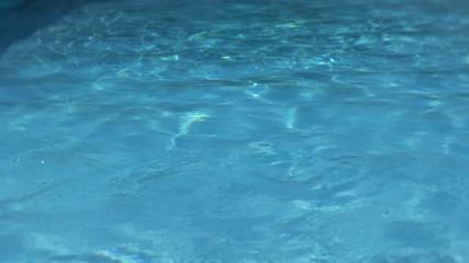 Water pool underwater swimming