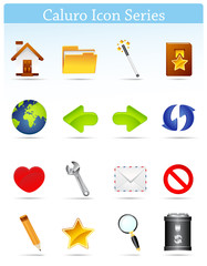 Caluro icon series-Internet and Blogging