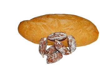 Pane Casareccio con salsicce