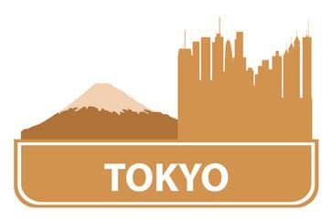 Tokyo outline