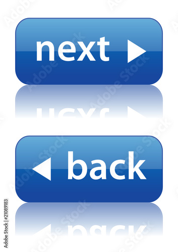"""Next"" and ""Back"" web buttons (navigation webpage site)"