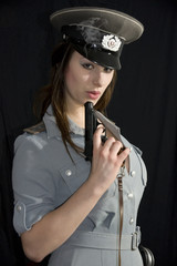 NVA Offizierin 4