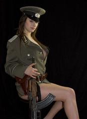 NVA Offizierin 2