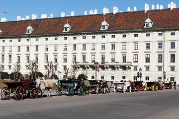 Wien / Vienna / Heldenplatz / Fiaker