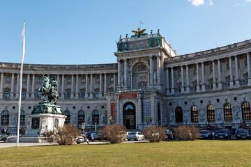 Wien / Vienna / Hofburg / Nationalbibliothek