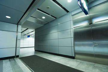 long passageway in building