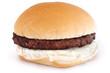 Grilled Hamburger on a Bun