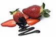 Deliciosas fresas con chocolate.