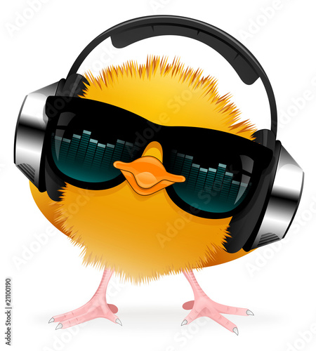 Cool music chick