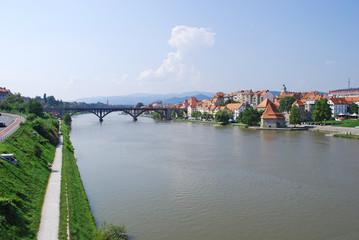 Maribor town. Slovenia