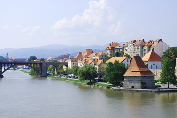 Slovenia. Maribor in summer
