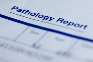 Pathology report