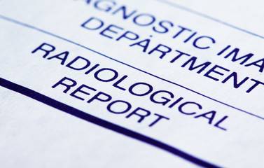 Radiological report
