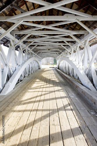 Groveton Covered Bridge (1852), New Hampshire, USA - 21105505