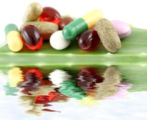 nutriments, compléments alimentaires, feuille aloe vera