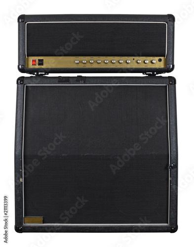 Leinwandbild Motiv Guitar amplifier combo