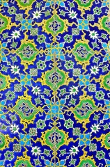 Handmade tile in Topkapi Palace