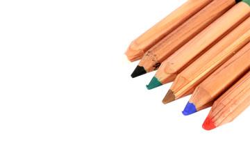 Color pencils for bodypaint