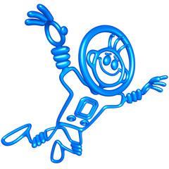 Doodle GuyZ Astronaut