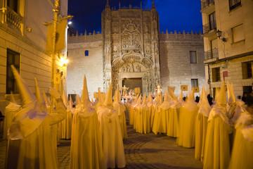 Procesion de Semana Santa en Valladolid, Spain
