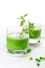 green pea soup cream