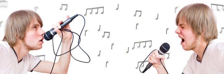 Singer conceptual image.